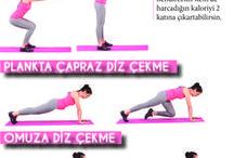 Göbek egzersiz