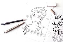 Doodling / Handlettering
