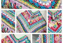 poncho/sjaal