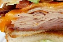 Sandwiches / There is nothing better than a good sandwich. Whether it's served hot or cold, it makes for a perfect meal or accompaniment. Try one of these delectable sandwiches for something new.