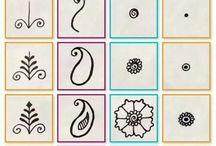 Henna step by step