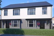 Greenspire, Clyst St Mary Near Exeter, Devon / A new development of 1, 2, 3, 4 & 5 bedroom homes in the village of Clyst St Mary, near Exeter.