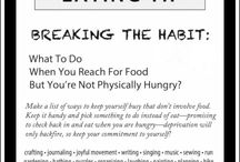 Intuitive Eating / Resources to help you eat more intuitively and honor your body.