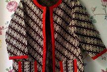 blazer batik cute