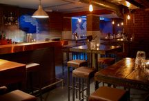 Cocktail Bars + Restaurants in London
