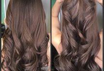Hårfarver og frisure