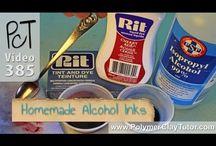 tintas de alcohol