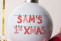 1st Christmas Gifts / Whether it's your first Christmas as a married couple, in a new home, or a little one's first festive season, celebrate with personalised keepsakes you can look back on in years to come!