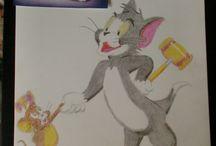 Manon Marsilje; Colored pencil / Art i made myself
