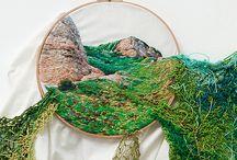 OCA Textiles / A selection of Fine Art Textiles artists and techniques