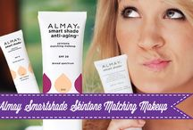 Almay Smartshade Skintone Matching Makeup / Tired of guessing what shade of foundation to buy? Take out the guessing game and check out our blog to see how Almay Smartshade Skintone Matching Makeup can solve your problem.