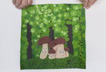 Marta Comas Illustration // mushrooms