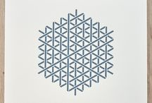 Geometry Daily limited edition silkscreen prints
