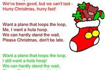 Christmas song lyrics!