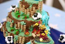 Skylanders 6th Birthday / Party ideas with food, decor, games and invitations for a boys Skylander themed birthday party