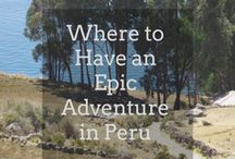 Peru Travel Inspiration / Discover the best of Peru in South America with Veloso Tours, the Latin America specialists