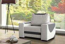 Křesla / Armchairs / Křesla jsou sice hlavně součástí obývacích pokojů, ale své místo mají také v kancelářích či dětských pokojíčcích. V naší nabídce najdete křeslo, na jaké si vzpomenete, ať už jste milovníkem moderny, dobového stylu nebo přírodních linií. Mnohá z křesel se dají rozložit na komfortní lůžko, jiná ukrývají úložný prostor nebo vynikají svým designem. Vyberte si některé z nich a dopřejte komfort svému pozadí!
