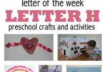"""letter """"Hh"""" activities"""