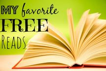 My Favorite FREE Reads! / FREE ONLINE BOOKS -- Want to know what books I'm reading for FREE online? Check 'em out here!