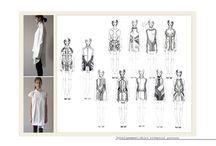 Fashion Design Life / Fashion Process, Sketchbooks, Illustrations,