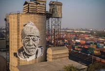 street art potrait