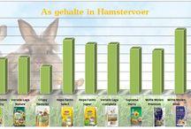 Wat zit er in Hamstervoer / Wat zit er eigenlijk in Hamstervoer? Wat zijn de verschillen ten opzichte van de verschillende soorten hamstervoeding? Wij hebben het voor je op een rijtje gezet!