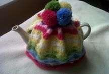 Tea Cosies / Tea cosies all kinds, shapes and forms