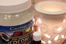 hacer warmers de olor con coconut oil