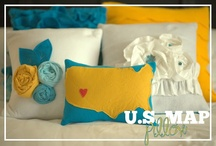 Pillows / Beautiful decorative pillows, that can easily be made...