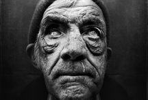Photographer: Lee Jefferies / Portrait Photographs #homeless people #monochromatic portraiture #photo #lee_jefferies