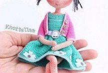 Muñecas amigurumis articuladas