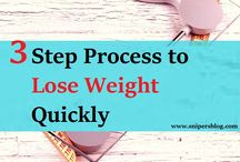Three Step Process to Lose Weight Quickly