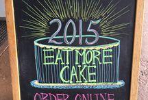 Tizzerts Chalkboard Flair