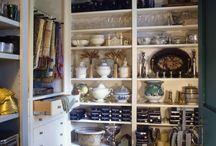 Kitchen storage, pantry