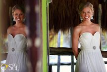 """Bride Molly / Getting ready to our beautiful bride and her friends and family ... Delight in your moment and look gorgeous on your wedding day, look like yourself, keep the """"you, only better"""" make up airbrush www.sarahgarnier.com wedding photographer @Del Sol Photography"""