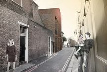 Prescott Place, London / The proposal looks to the context of the narrow street, the structures and the urban fabric generally to inform the proposed scale and height.