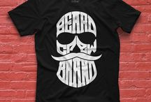 Bearded to the Grave / The Bearded to the Grave Tee Shirt is a symbol that you will take that shit with you to the grave.  No shaving of that beard...ever.