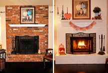 Fireplace / by Katie Wiegand