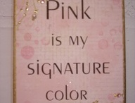 ღ Pink Is My Signature Color ღ / I love pink.... mainly the softer pinks....yes, I am a girly girl at times :) / by Lisa Coulter
