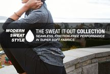 Sweat It Out / Seamless, friction-free performance activewear  / by lucy Activewear