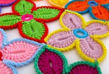 Crochet Flowers / by Christine Williams