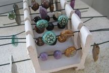 Pottery beads