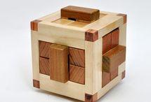 Kockové  hlavolamy wood