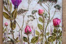 Цветы сухие | слепок