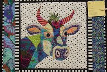 Art/animal quilts