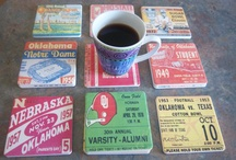 Best Football Gifts on Pinterest / Football Gifts! Best football gifts on Pinterest! Football art, ROW 1™ Tees, and football drink coasters. College football gifts, vintage football gifts, pro football gifts! Football gifts made from authentic vintage football tickets. / by 47 STRAIGHT™