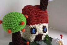 Crochet Houses and Trees / Patterns and Inspiration