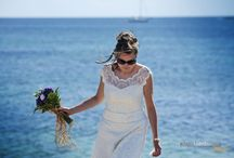 The sea and the wedding / Photographic services for weddings with sea landscape and blue  © www.ninolombardo.it