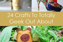 Geeky Crafts / Geeky and Nerdy DIY Crafts!