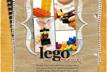 LEGO Scrapbooking